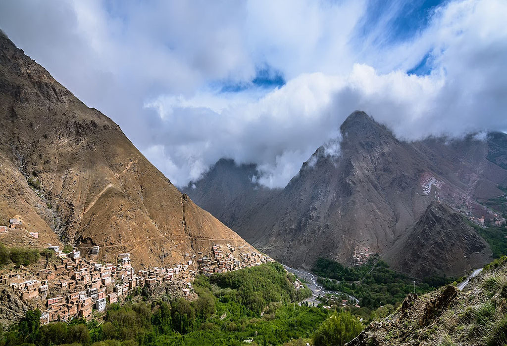 Traditional-Berber-villages-and- Mount-Toubkal