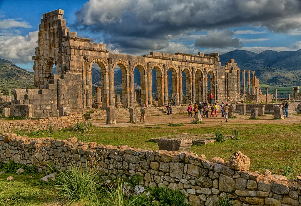 historic-remains-of-Volubilis